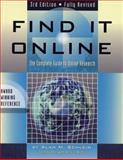 Find It Online, Alan M. Schlein, 1889150290