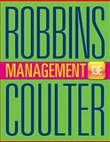 Management, Robbins, Stephen P. and Coulter, Mary, 0133910296