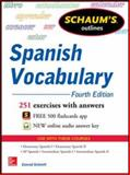 Schaum's Outline of Spanish Vocabulary, 4th Edition, Schmitt, Conrad, 0071830294