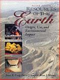 Resources of the Earth, Craig, James R. and Vaughan, David J., 0134570294