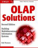 OLAP Solutions : Building Multidimensional Information Systems, Thomsen, Erik, 0471400300