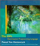 The OPL Optimization Programming Language, Van Hentenryck, Pascal, 0262720302