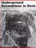 Underground Excavations in Rock, Evert Hoek and Ted Brown, 0419160302