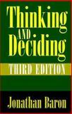 Thinking and Deciding 9780521650304