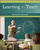 Learning to Teach, Arends, Richard I., 0078110300