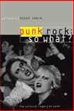 Punk Rock - So What?, , 0415170303