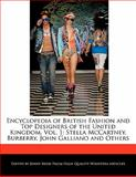 Encyclopedia of British Fashion and Top Designers of the United Kingdom, Jenny Reese, 1170680305