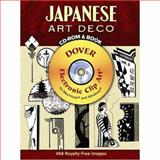 Japanese Art Deco CD-ROM and Book, Tomoyuki Onuma, 0486990303