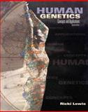 Human Genetics : Concepts and Applications, Lewis, Ricki, 0697240304