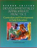 Developmentally Appropriate Practice : Curriculum and Development in Early Education, Gestwicki, Carol L., 0766800318