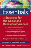 Essentials of Statistics for the Social and Behavioral Sciences, Cohen, Barry H. and Lea, R. Brooke, 0471220310