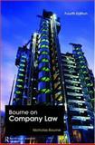 Bourne on Company Law, Bourne, Nicholas, 1845680316