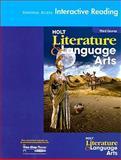 Holt Literature and Language Arts, Holt, Rinehart and Winston Staff, 0030650313
