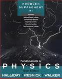 Fundamentals of Physics, , Problem Supplement No. 1, Halliday, David and Resnick, Robert, 0471360317