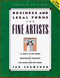 Business and Legal Forms for Fine Artists, Tad Crawford, 1581150318