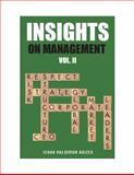 Insights on Management : Volume 2, Adizes, Ichak, 0937120316