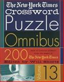 The New York Times Crossword Puzzle Omnibus, New York Times Staff, 0312320310