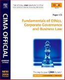 CIMA Learning System Fundamentals of Ethics, Corporate Governance and Business Law, Mead, Larry and Sagar, David, 0750680326