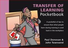 Transfer of Learning Pocketbook 9781906610326