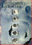 Continuation 1, Louis Dudek, 0919890326