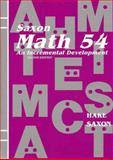 Math 54, Stephen Hake and John Saxon, 1565770331