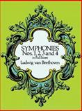 Symphonies Nos. 1, 2, 3 and 4 in Full Score, Ludwig van Beethoven, 048626033X