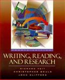 Writing, Reading, and Research, Veit, Richard and Gould, Christopher, 0205200338