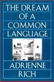 Dream of a Common Language, Adrienne Rich, 0393310337