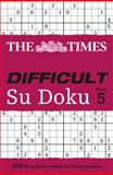 The Times Difficult Su Doku Book 5, Times Times Books, 0007440340