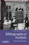 Bibliographical Analysis : A Historical Introduction, Tanselle, G. Thomas, 0521760348