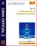 CIMA Learning System Fundamentals of Business Economics, Adams, Steve and Periton, Paul, 0750680342