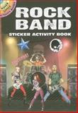 Rock Band Sticker Activity Book, Scott Altmann, 0486470350