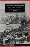 Citizenship and Community : Liberals, Radicals and Collective Identities in the British Isles, 1865-1931, , 0521480353