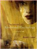 Fundamentals of Abnormal Psychology, Comer, Ronald J., 1429200359