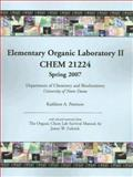Elementary Organic Laboratory II; Chem 21224 : The Organic Chem Lab Survival Manual, Zubrick, James W. and Peterson, Kathleen A., 0470130369