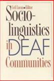 Sociolinguistics in Deaf Communities, , 156368036X