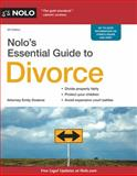 Nolo's Essential Guide to Divorce, Emily Doskow, 1413320368