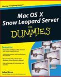 Mac OS X Snow Leopard Server for Dummies, John Rizzo, 0470450363
