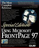 Special Edition Using Microsoft FrontPage 97, Randall, Neil and Jones, Dennis, 0789710366