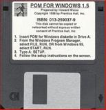 POM for Windows, Version 1.0, Weiss, Howard J., 0132590379