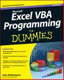 Excel VBA Programming for Dummies, John Walkenbach, 1118490371