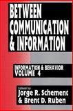 Between Communication and Information, , 1560000376