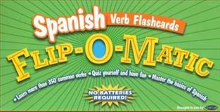 Kaplan Spanish Verb Flashcards Flip-O-Matic, Kaplan Publishing Staff, 0743260376