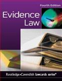 Evidence Law, Routledge, 1845680375