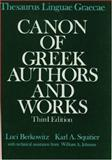 Thesaurus Linguae Graecae : Canon of Greek Authors and Works, , 0195060377