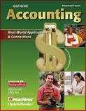 Glencoe Accounting Advanced Course : Real-World Applications and Connections, Guerrieri, Donald J. and Haber, F. Barry, 007874038X