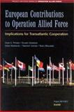 European Contributions to Operation Allied Force, John E. Peters and Stuart Johnson, 0833030388