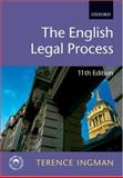 English Legal Process, Ingman, Terence, 0199290385