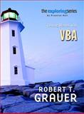 Exploring : Getting Started with VBA, Grauer, Robert T., 0131090380
