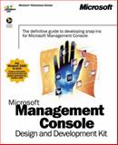 Microsoft Management Console Design and Development Kit 9780735610385